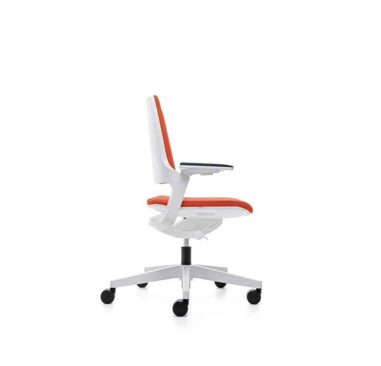 White Frame Office Task Chair