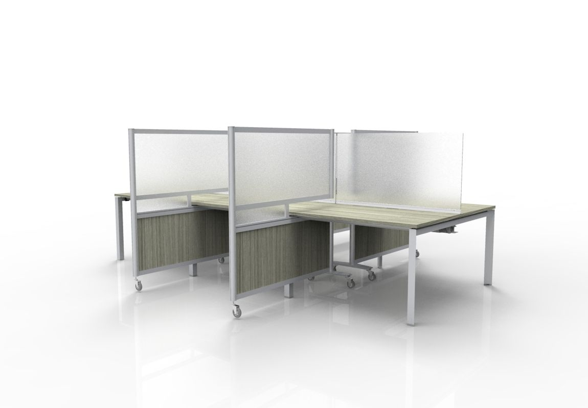 Workstation Privacy Screens