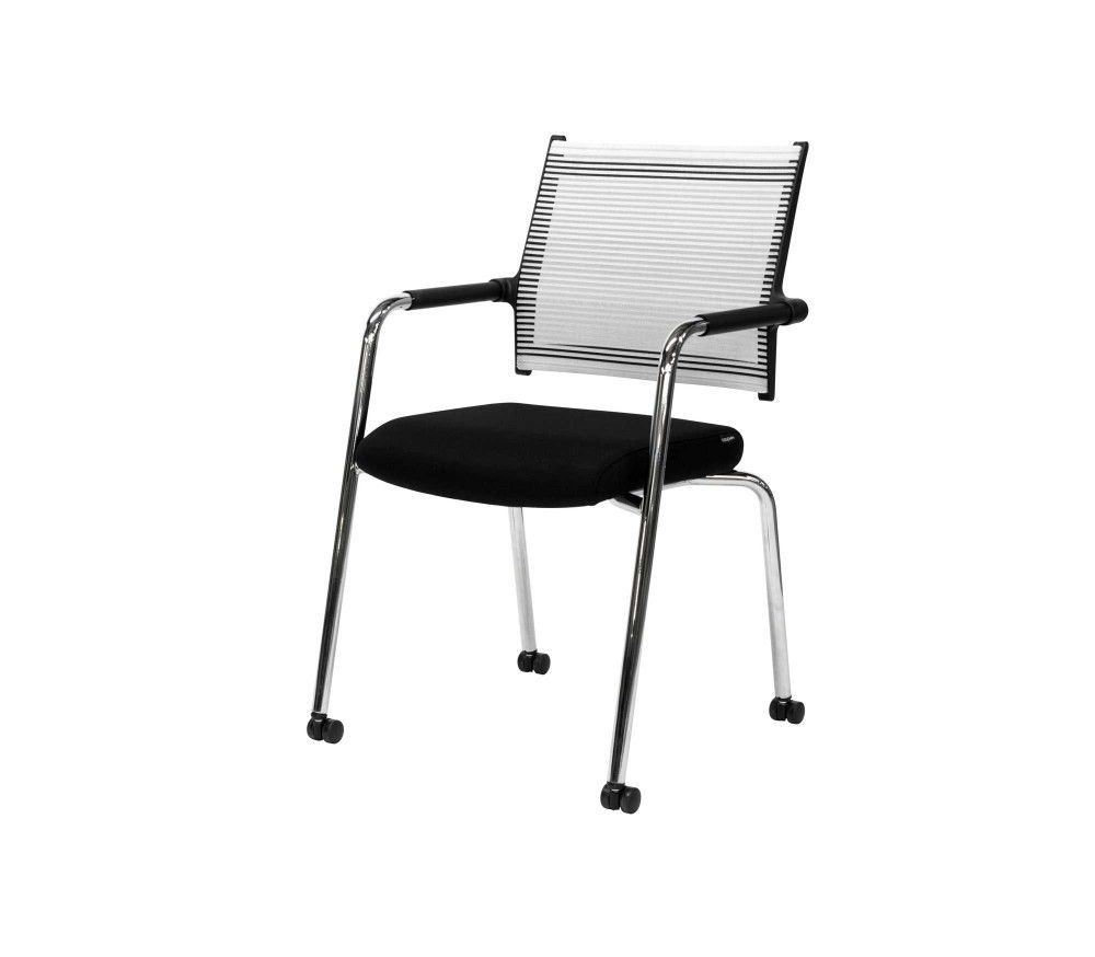 Modern Guest Chair with Casters