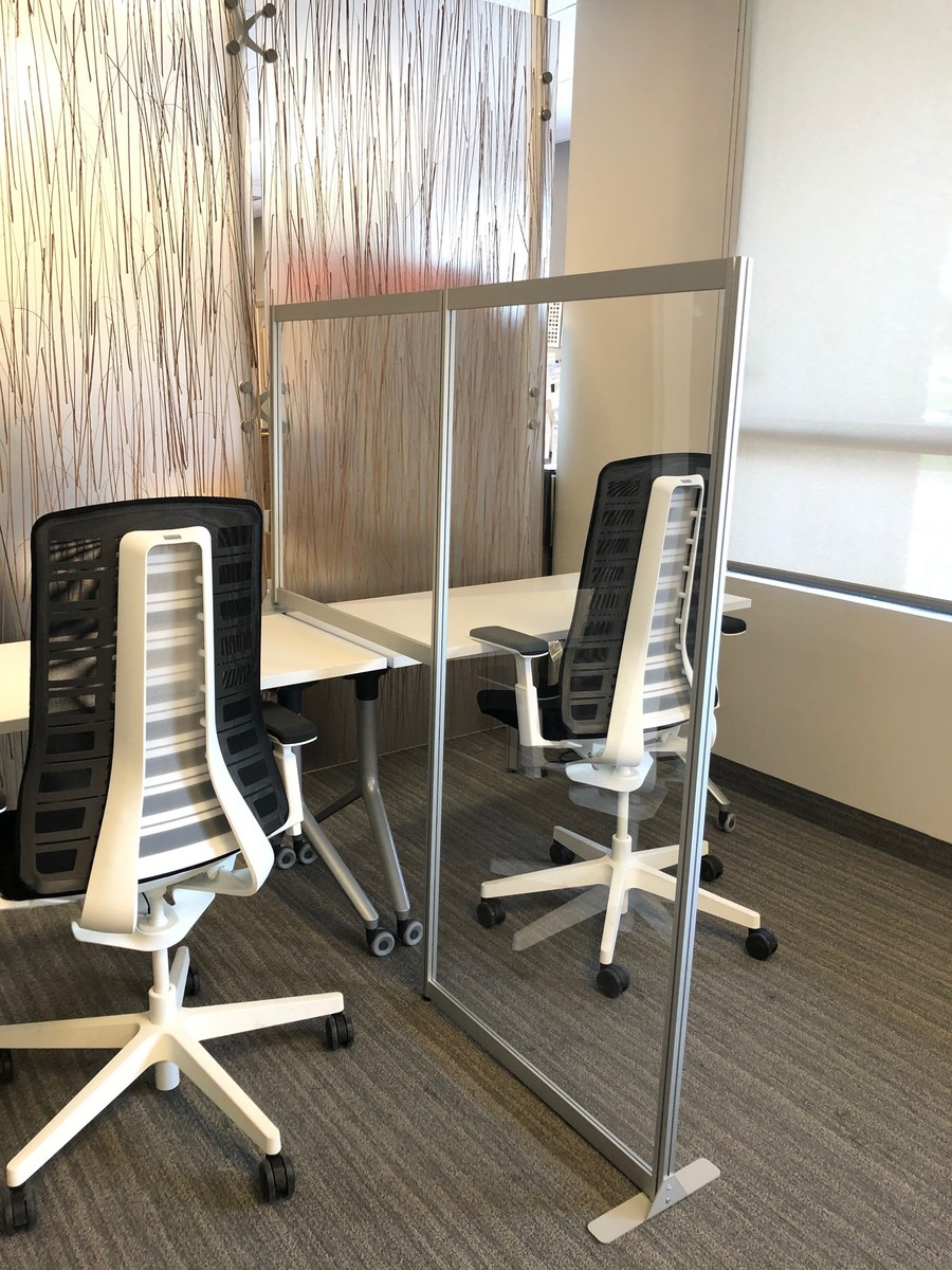 Desk Privacy Panels | Office Social Distancing