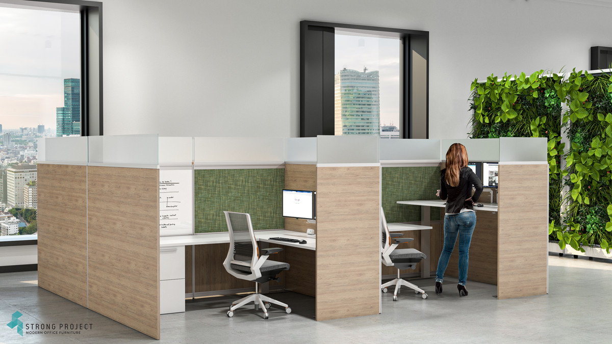 Private Sit-Stand Cubicles