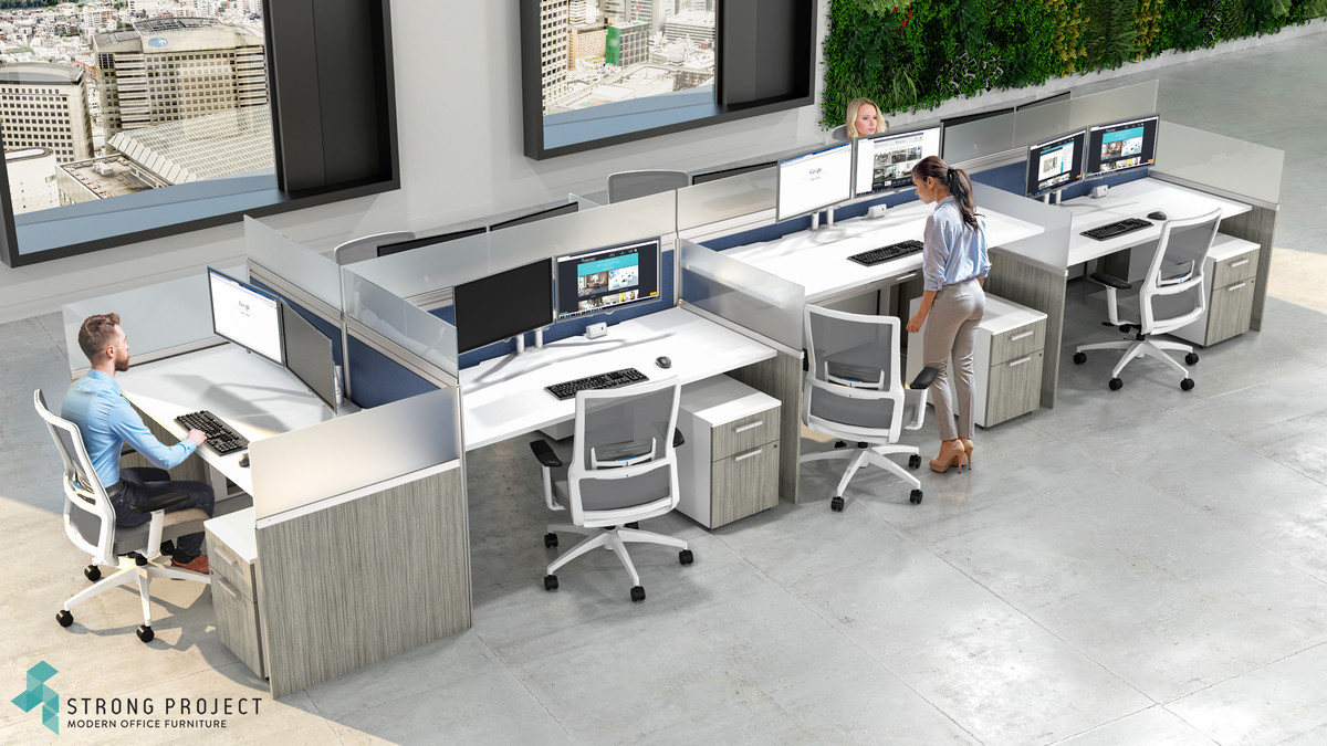 Cubicle Privacy Ideas for Social Distancing