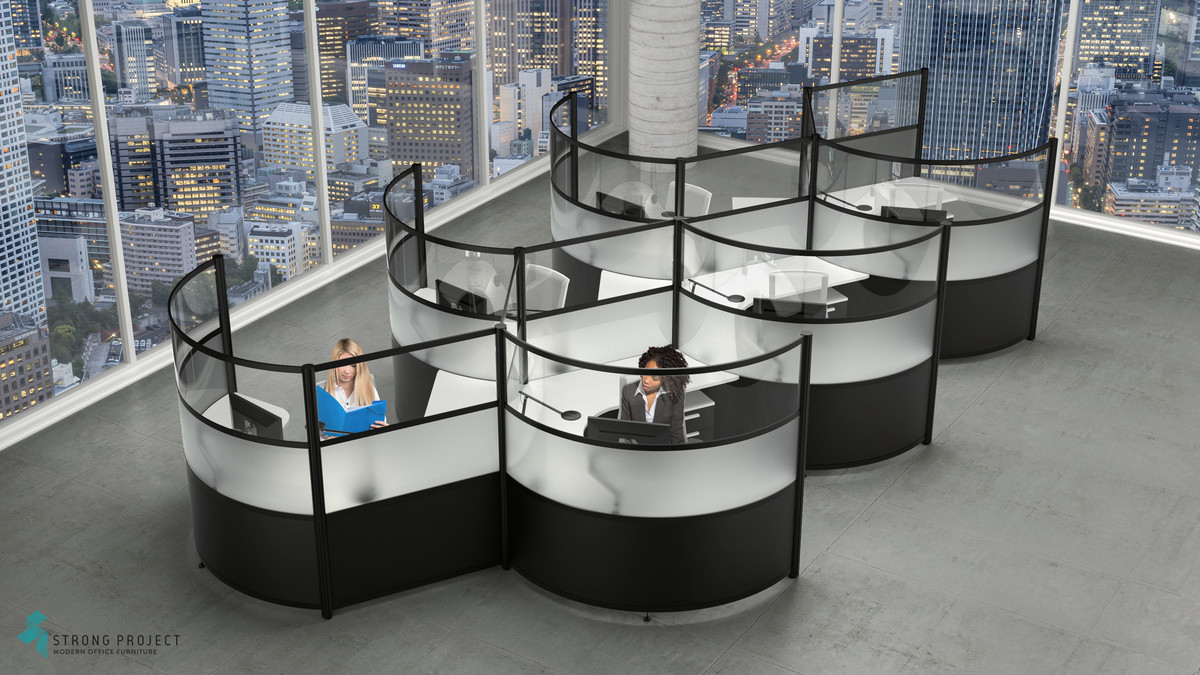 Modern Workstations | Social Distancing Cubicles