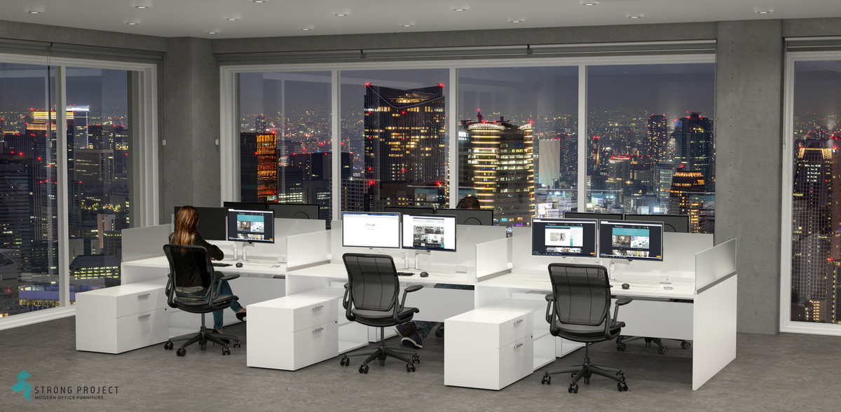 Hoteling Cubicles – Cost Effective Workstations