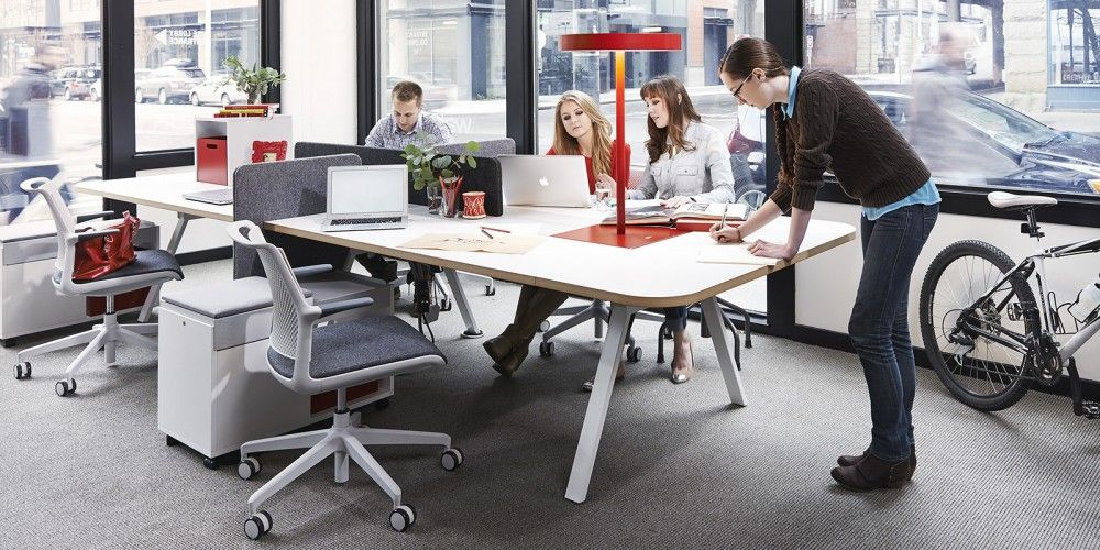 Office Benching System Furniture