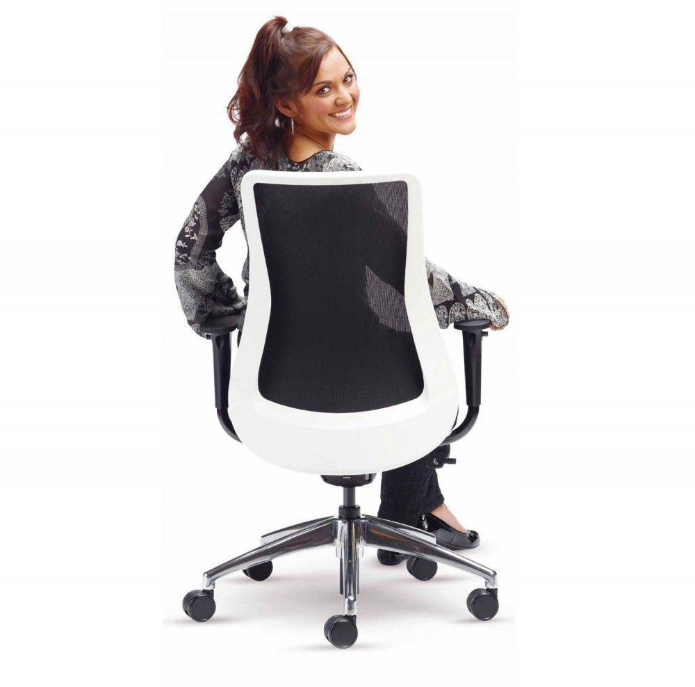 Modern Mesh Conference Chairs