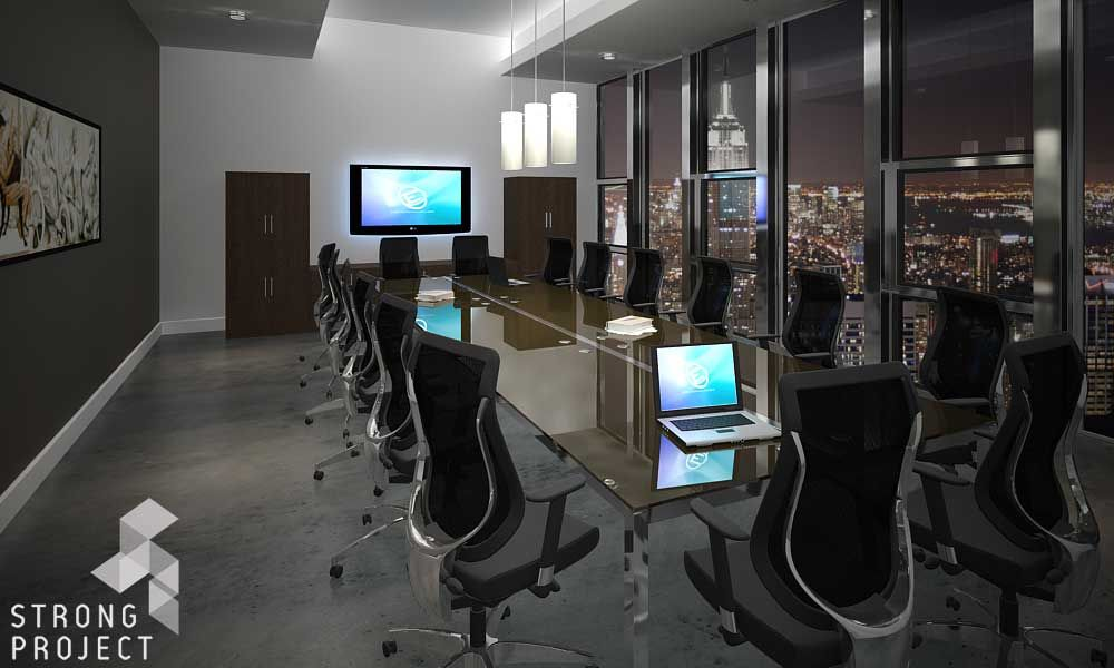 Glass Board Room Tables