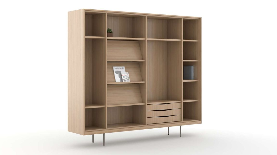 Office Storage Cabinets & Desk Wall Units