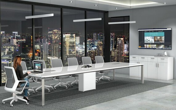 These Conference Room Tables and Boardroom Tables are best in class when coupling power and data integration with modern office furniture design