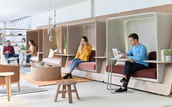 Acoustic Furniture & Office Phone Booths
