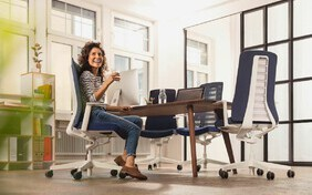 Modern Office Chairs, Comfortable Desk Chairs and Office Lounge Chairs with style that represent the best in class in today's Contemporary Office Furniture world