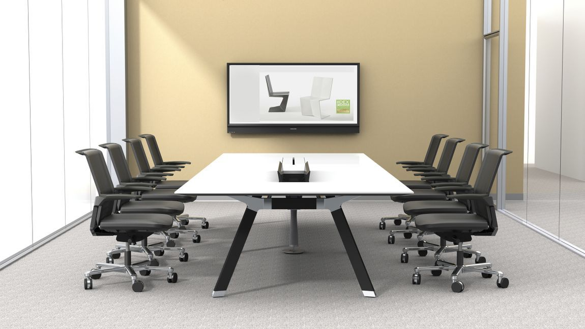 White Conference Tables