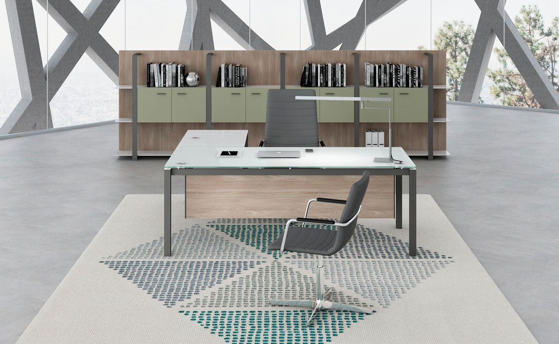 Contemporary Glass Desks