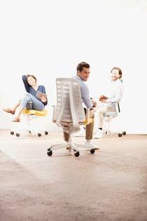 Ergonomic Conference Room Chairs