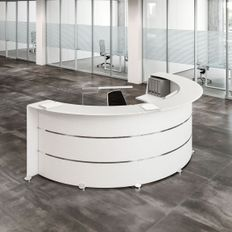 Reception desks contemporary and modern office furniture - Banco reception ikea ...