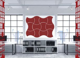 Wall Mountable Acoustic Tiles