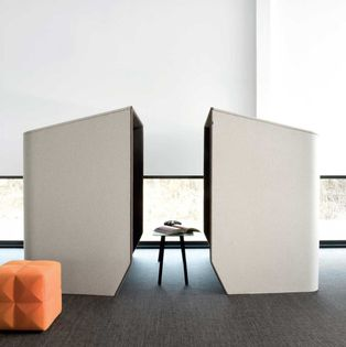 Acoustic Office Furniture - Collaborative Brainstorming Pods