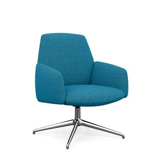 Modern Lounge Chair with Flex Back