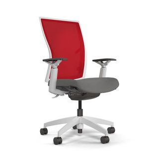 Red Mesh Task Chair