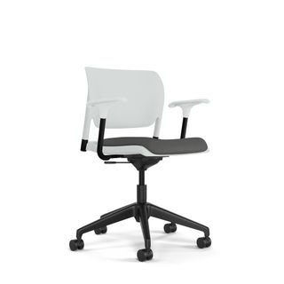 Modern White Task Chair
