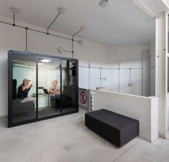 Office Phone Booths and Acoustic Furniture