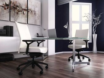 Ergonomic Mid-Back Executive Chair