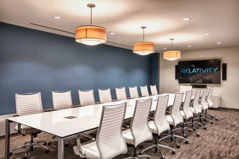 Delightful Modern Conference Tables With Built In Technology