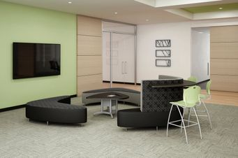 Open Plan Collaborative Meeting Furniture
