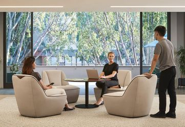 Mobile Collaborative Lounge Seating
