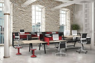 Contemporary Sit-Stand Workstations