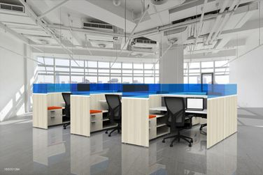 Height Adjustable Workstations with Additional Privacy