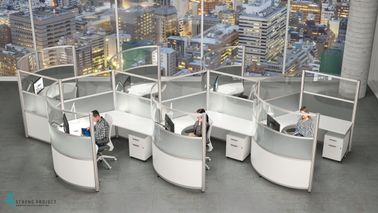 Modern Cubicles for Social Distancing in the Workplace