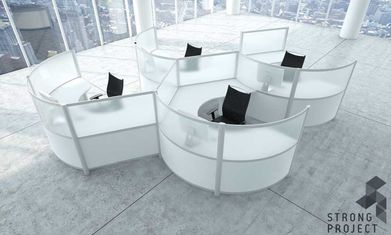 Lovely Modern Cubicles
