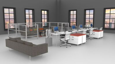 Benching Systems for Creative Office Spaces