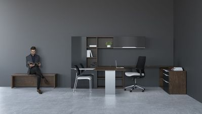 Desk For Office Design With Modern Executive Desks In Los Angeles Office Glass Desks Furniture