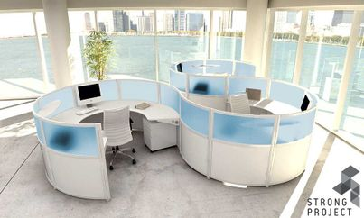 Modular Office Furniture - Modern Workstations, Cool Cubicles, Sit ...