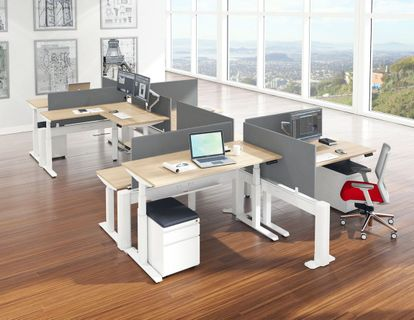 Modern Sit Stand Workstations