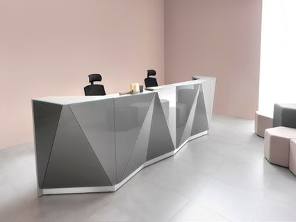 Angular Modern Reception Desk