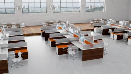 Contemporary Height Adjustable Workstations