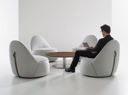 Open Plan Collaborative Lounge Furniture