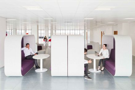 Acoustic Office Furniture for Privacy