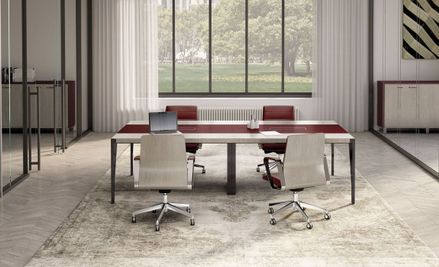 Modern Wood Conference Tables