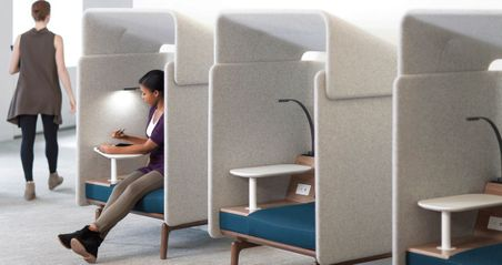Acoustic Seating Booth