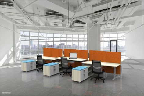 Adjustable Height Workstations, Sit Stand Benching Systems