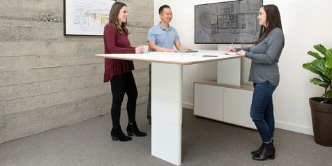 Collaborative Sit-Stand Meeting Tables