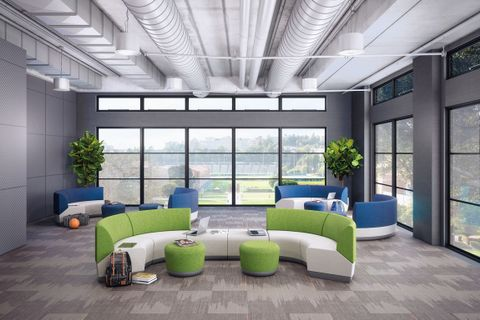 Open Plan Collaborative Seating