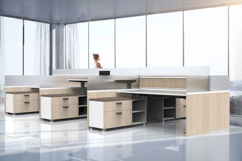 Uplifting Organic Office Cubicle Designs