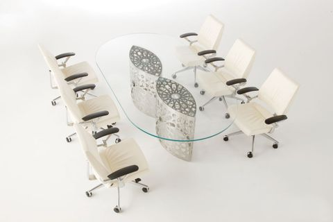 Glass Top Conference tables