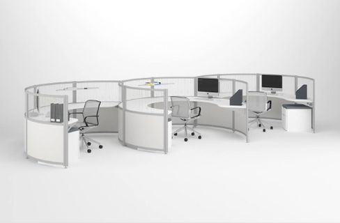 Curved Cubicles