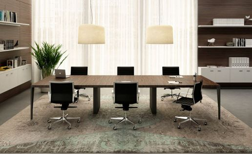 Minimalist Conference Table Design Ideas